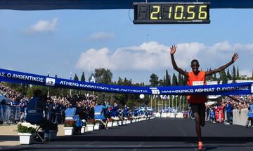 Μαραθώνιος: Ο Κενυάτης Μπρίμιν Μισόι νικητής της κλασικής διαδρομής (pic/vid)