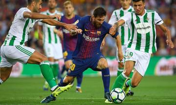 La Liga: Η Μπέτις «ξέρανε» την Μπαρτσελόνα στο Camp Nou (3-4)! (vid)