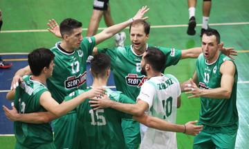 Πρώτη νίκη Παναθηναϊκού 3-0 σετ την Κομοτηνή