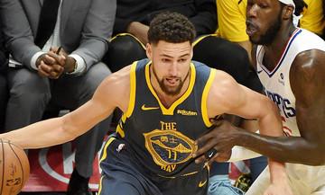 «Λύγισαν» στην παράταση οι Ουόριορς (τα αποτελέσματα στο NBA)