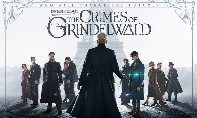 Έρχονται τα Φανταστικά Ζώα: Τα Εγκλήματα Του Γκρίντελβαλντ - Με Τζόνι Ντεπ (vid)
