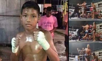 Νεκρός από εγκεφαλική αιμορραγία 13χρονος πυγμάχος στην Ταϊλάνδη- Αγωνιζόταν από 8 χρονών!