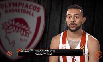 Γκος: «Θέλω να παίξω σε Final Four με τον Ολυμπιακό» (vid)
