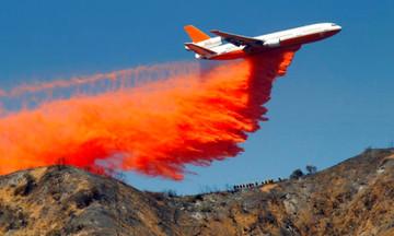 Αυτό είναι το «θηρίο» που δίνει μάχη με τις φλόγες στην Καλιφόρνια! (vid)