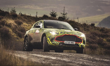 Δοκιμές για το πρώτο SUV της Aston Martin