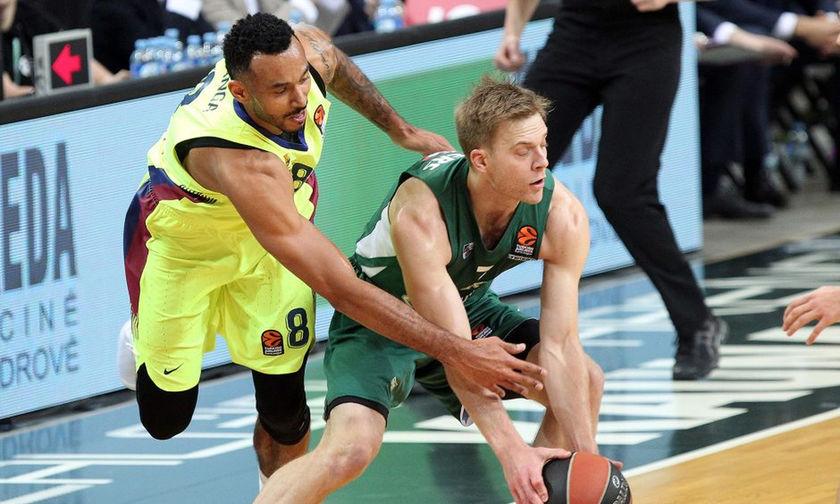 Νίκη στην παράταση για την Μπαρτσελόνα, 88-85 την Ζαλγκίρις