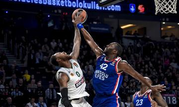Δεύτερος μπλοκέρ στην ιστορία της EuroLeague ο Ντάνστον