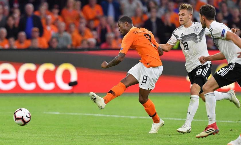 Ο  Βαϊνάλντουμ κάνει το 1-0 για την Ολλανδία (vid)