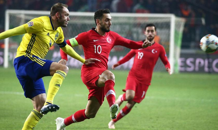 Η Σουηδία έστειλε την Τουρκία στην 3η κατηγορία του Nations League (vid)
