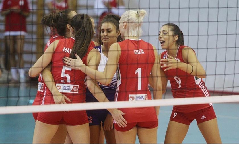 Volleyleague Γυναικών: Απέναντι στην Θέτιδα για την τρίτη του νίκη ο Ολυμπιακός