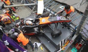 Τρομακτικό ατύχημα στη Formula 3- Τρεις σοβαρά τραυματισμένοι (vid)