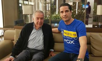 Φόρεσε μπλούζα της Μακάμπι ο Σφαιρόπουλος (pic)