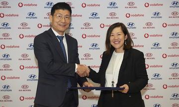 Συνεργασία Hyundai Kia με Vodafone για τα συστήματα πολυμέσων