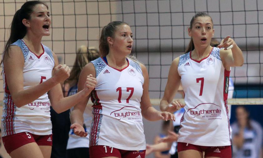 Live score: Βολερό- Ολυμπιακός 3-0(27-25, 25-17, 25-14)