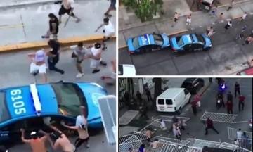 Αστυνομικοί στο έλεος των χούλιγκανς - Σοβαρά επεισόδια στην Αργεντινή με 26 τραυματίες (vids)