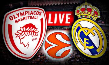 LIVE: Ολυμπιακός - Ρεάλ Μαδρίτης (20:45)