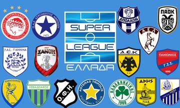 Super League: Ο έλεγχος των 16 ομάδων στο 1/3 του πρωταθλήματος