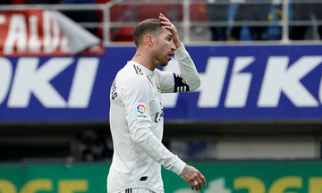 La Liga: Δράμα η Ρεάλ, διασύρθηκε από την Έιμπαρ! (3-0)
