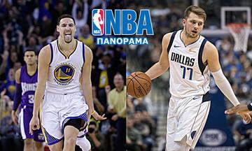 NBA: Δυσκολεύτηκαν οι Ουόριορς, έδειξαν τα δόντια τους οι Μάβερικς