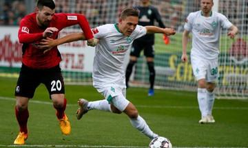 Bundesliga: «Έκλεψε» τον βαθμό η Βέρντερ από την Φράιμπουργκ