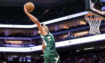 Με Αντετοκούνμπο τα καλύτερα καρφώματα στο NBA (vid)