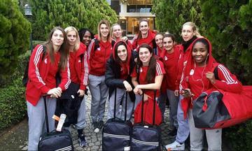 Στην Τουρκία για την πρώτη νίκη η γυναικεία ομάδα του Ολυμπιακού