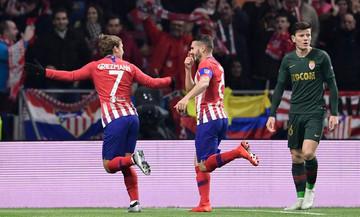 Τα δύο γκολ της Ατλέτικο Μαδρίτης στο ημίχρονο με τη Μονακό (vid)