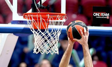 EuroLeague: Τα αποτελέσματα, η βαθμολογία και το πρόγραμμα (ενδέκατη αγωνιστική)