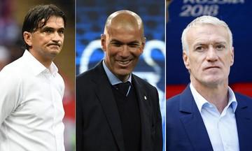 IFFHS: Κορυφαίοι προπονητές στον κόσμο, Ζιντάν και Ντεσάν