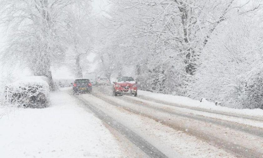 Που έχει χιονίσει - Σε ποια σημεία χρειάζονται αλυσίδες