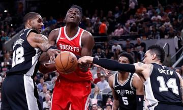 NBA: Το Χιούστον πήρε το ντέρμπι του Τέξας