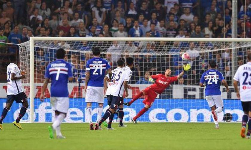 Serie A: Σαρωτική η Σαμπντόρια, 4-1 την Μπολόνια