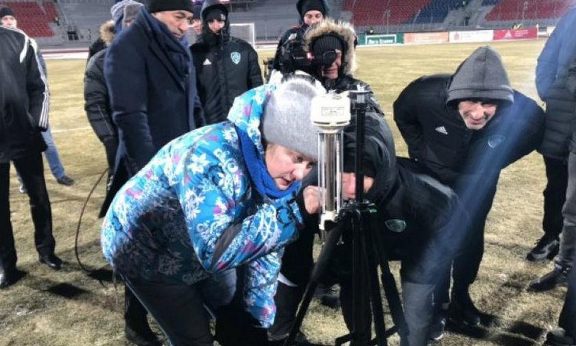 Στη Σιβηρία ξεκίνησε ματς στους -25 βαθμούς! (vid)