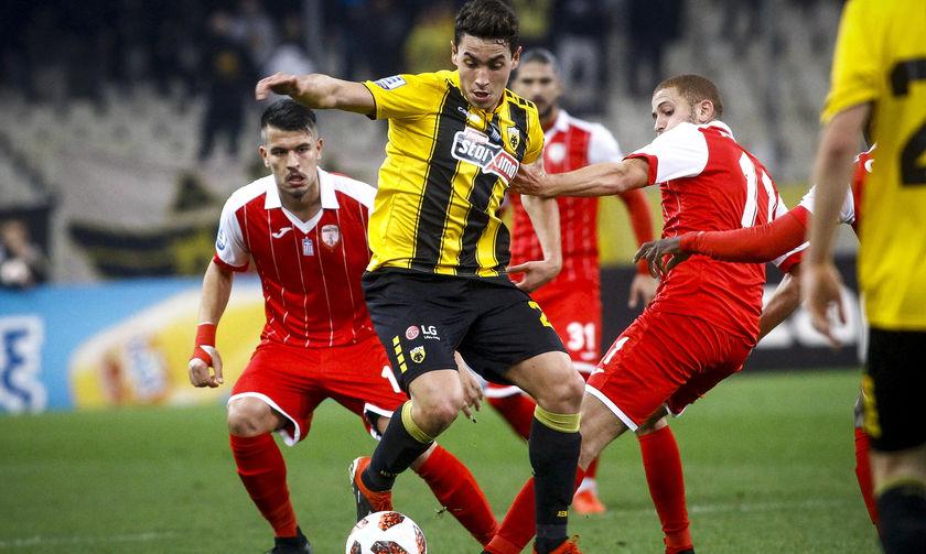 Με γκολ του Πόνσε η ΑΕΚ 1-0 την Ξάνθη (vid)