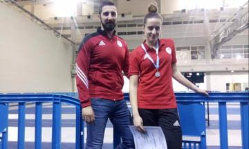 Τελικός και ασημένιο μετάλλιο για την Κωνσταντακοπούλου του Ολυμπιακού!