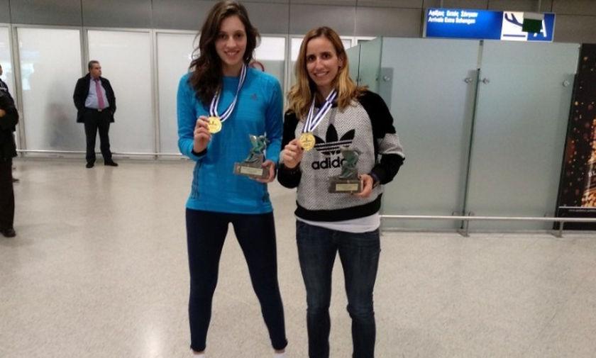 Αρβανίτη και Καραγκούνη αποτιμούν το χρυσό στη Σλοβενία