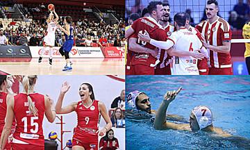 Τέσσερις «μάχες» για τον Ολυμπιακό!