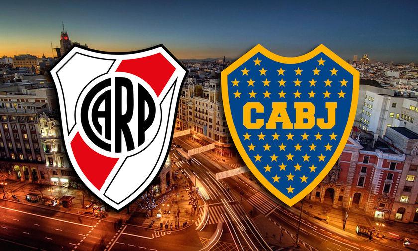 Ρίβερ - Μπόκα: Συναγερμός στη Μαδρίτη  για τον τελικό!