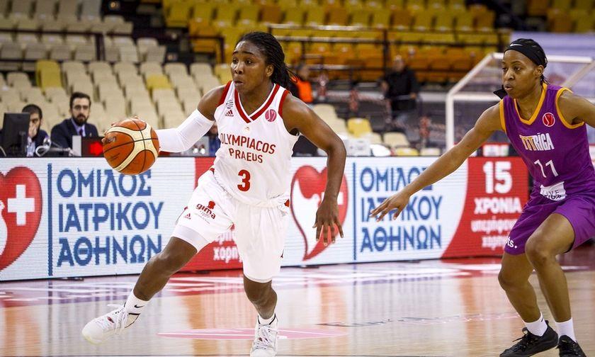 Oλυμπιακός - Ρίγα 51-70: Παραμένει χωρίς νίκη στην Ευρωλίγκα