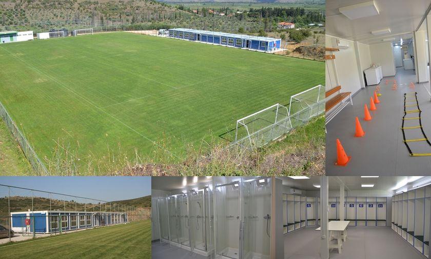 Αυτό είναι το προπονητικό κέντρο του Λεβαδειακού - Σύγχρονο και... κουκλί (pics)