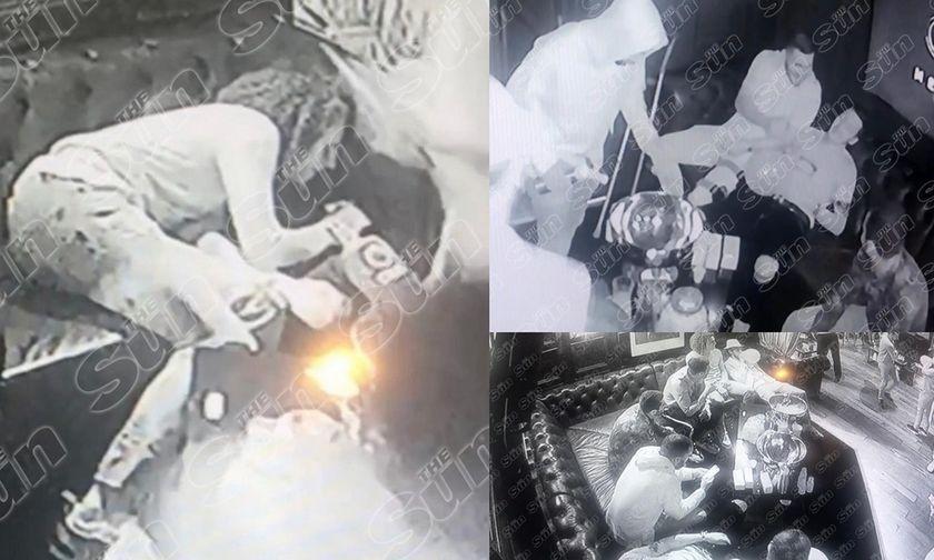 Πάρτι παικτών της Αρσεναλ με hippy crack, βότκες, σαμπάνιες, 70 γυναίκες - Δείτε το βίντεο