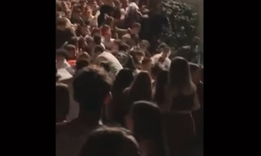 Βίντεο ντοκουμέντο στην Ιταλία: Η στιγμή που το πάτωμα σε κλαμπ υποχωρεί με 6 νεκρούς