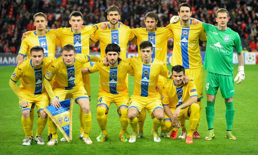 ΜΠΑΤΕ Μπορίσοφ: Η αποστολή ενόψει ΠΑΟΚ