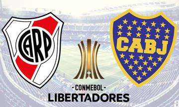 Copa Libertadores: Σήμερα στις 21:30 η «μάχη» μεταξύ Ρίβερ Πλέιτ και Μπόκα Τζούνιορς
