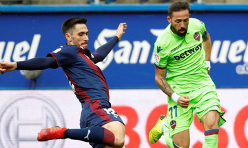 La Liga: Βροχή τα γκολ στο Εϊμπάρ-Λεβάντε (vid)