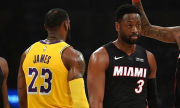 NBA: Ο ΛεΜπρόν νίκησε τον Ουέιντ στην τελευταία τους συνάντηση (vids)