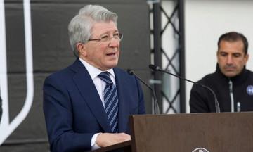 Σάλος με το σεξιστικό σχόλιο του προέδρου της Ατλέτικο (pic)