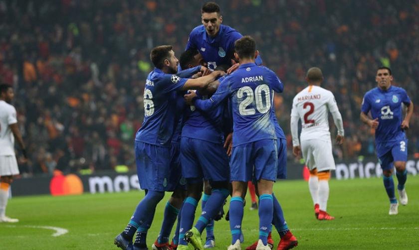 Κορυφαία η Πόρτο στους ομίλους του Champions League