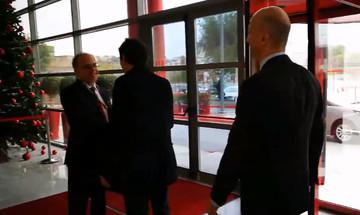 Τώρα στο «Γ. Καραϊσκάκης»: Το γεύμα του Ολυμπιακού σε Μίλαν και UEFA (vid)