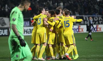 Tα γκολ στο ΠΑΟΚ-ΜΠΑΤΕ Μπορίσοφ 1-3 (vid)